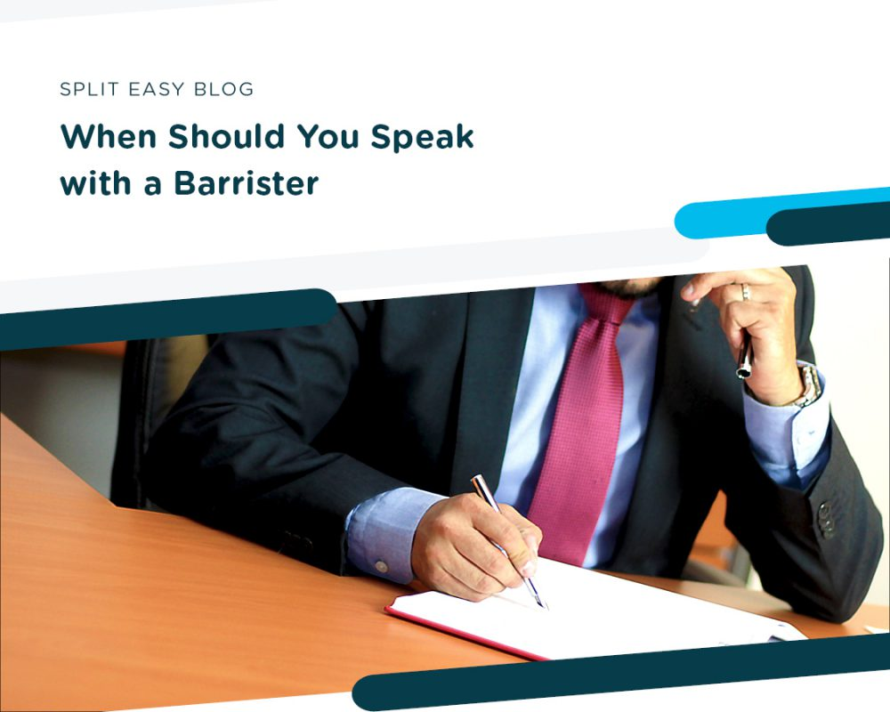 When Should You Speak with a Barrister